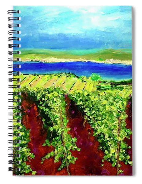 Grape One Orchard Spiral Notebook