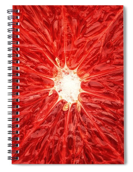 Grapefruit Close-up Spiral Notebook