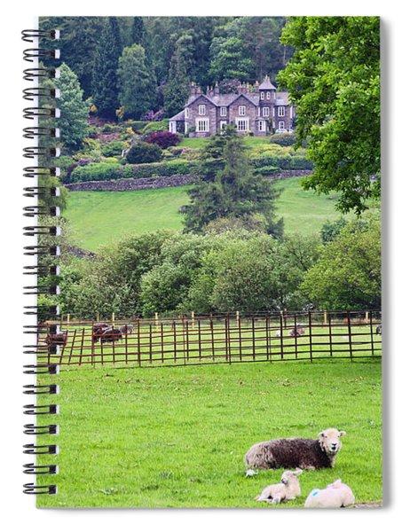 Grasmere England  6753 Spiral Notebook
