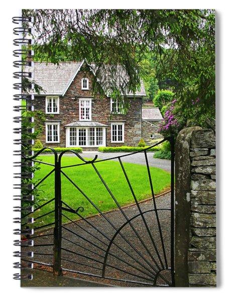 Grasmere House  6738 Spiral Notebook