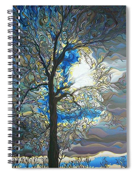 Grasping At Sunshine Spiral Notebook