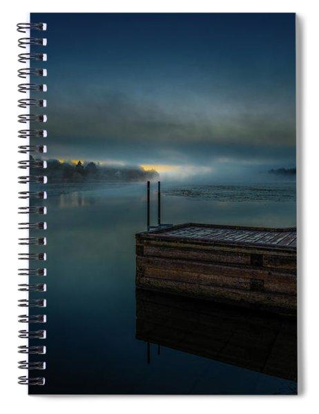 Grass Creek Sunrise 1 Spiral Notebook