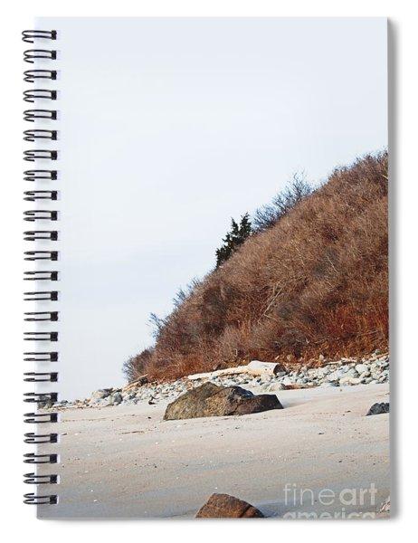 Grassy Dune Spiral Notebook