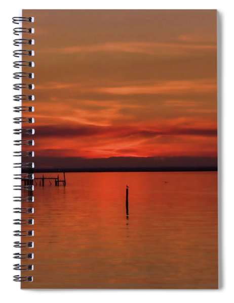 Grateful Sky Spiral Notebook