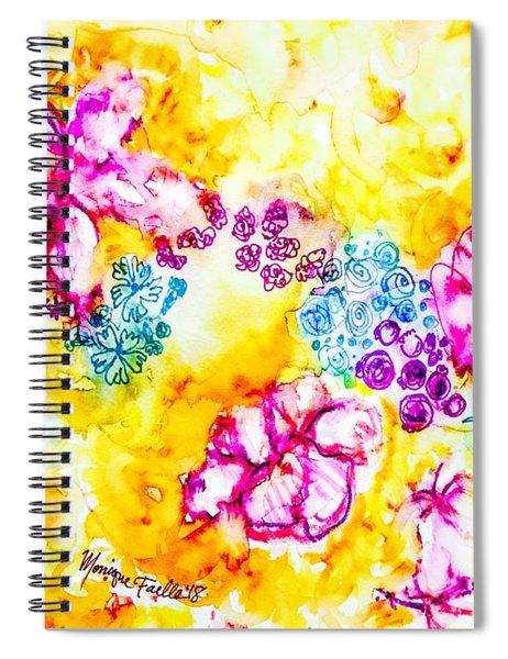 Gratitude Blooms Spiral Notebook