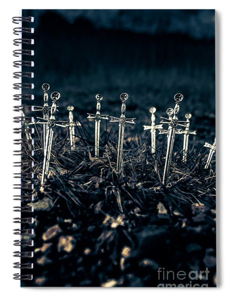 Gravely Battlefield Spiral Notebook