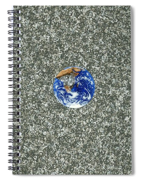 Gray Space Spiral Notebook
