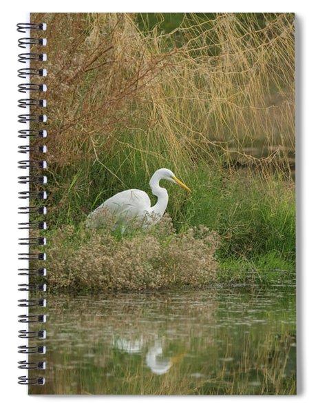 Great Egret 5755-112717-1 Spiral Notebook