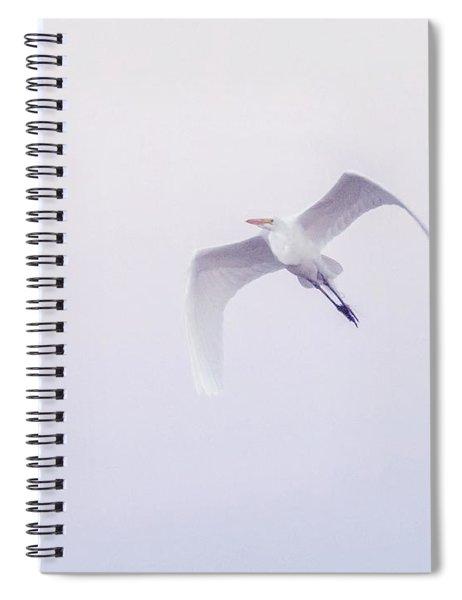 Great Egret 6296-021118-1cr Spiral Notebook