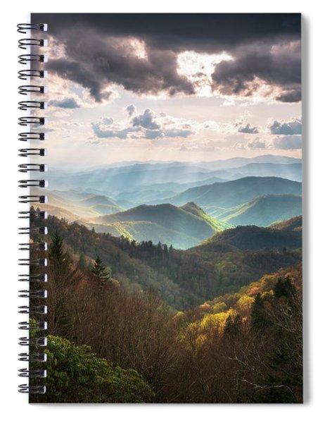 Great Smoky Mountains National Park North Carolina Scenic Landscape Spiral Notebook