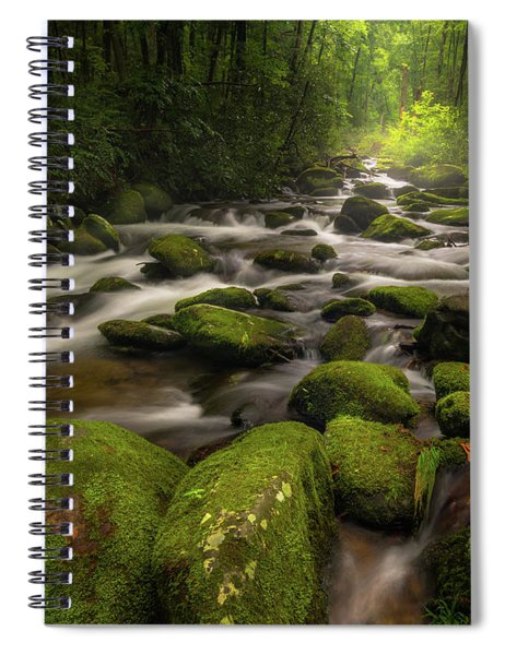 Great Smoky Mountains Roaring Fork Spiral Notebook