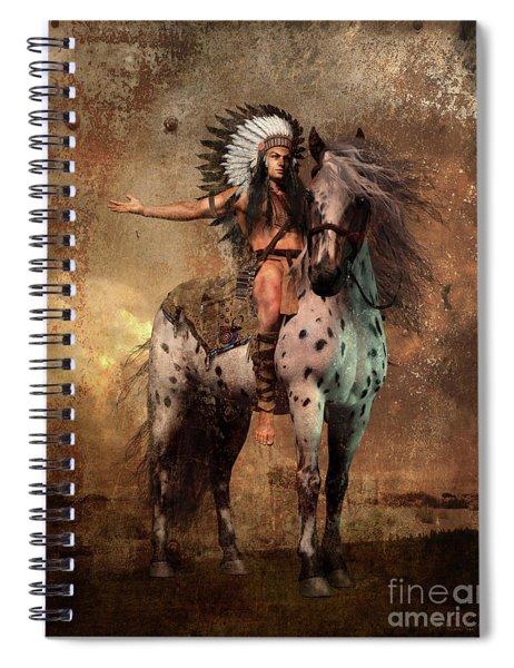 Great Spirit Chief Spiral Notebook