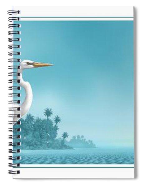 Great White Spiral Notebook