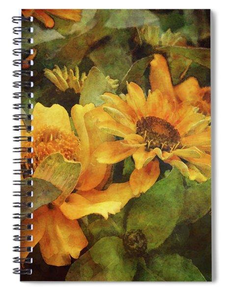 Green And Gold 1068 Idp_2 Spiral Notebook