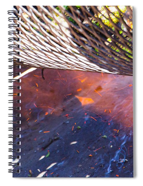 Green Chile Roast Spiral Notebook