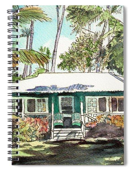 Green Cottage Spiral Notebook