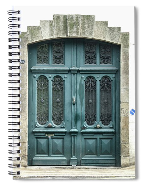 Green Door Spiral Notebook
