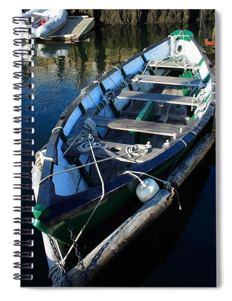 Green Dory Spiral Notebook