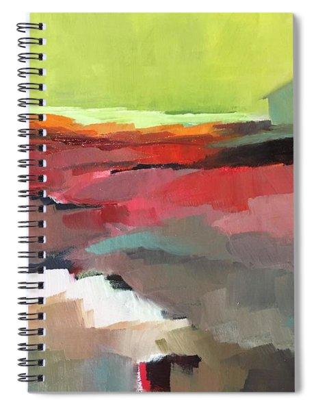 Green Flash Spiral Notebook