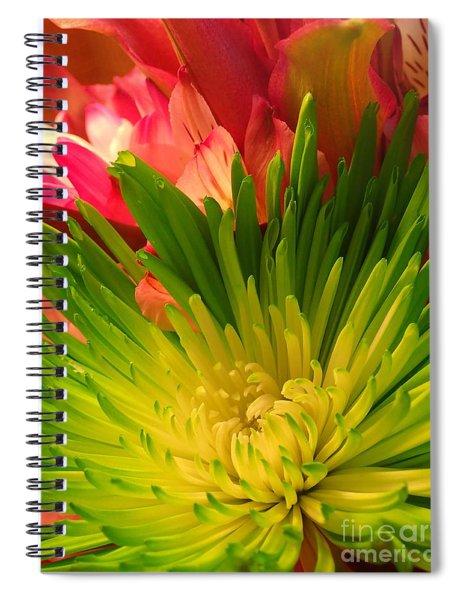Green Focus Spiral Notebook