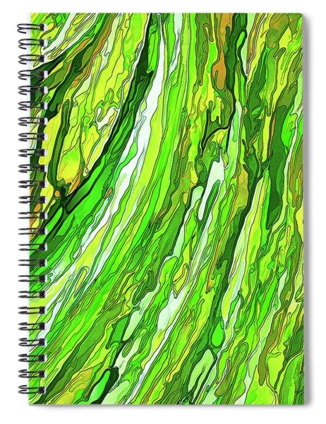 Green Garden Spiral Notebook