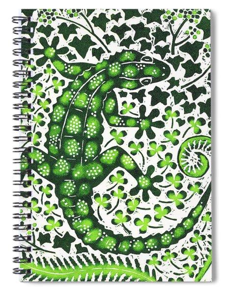Green Gecko Spiral Notebook