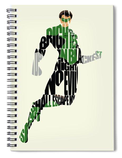 Green Lantern Spiral Notebook