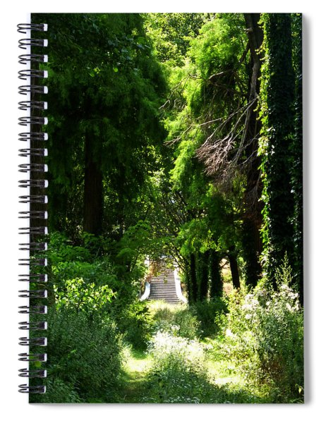 Green Lombardy Spiral Notebook