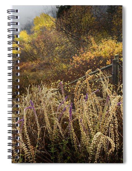 Green Mountain Dawn Spiral Notebook