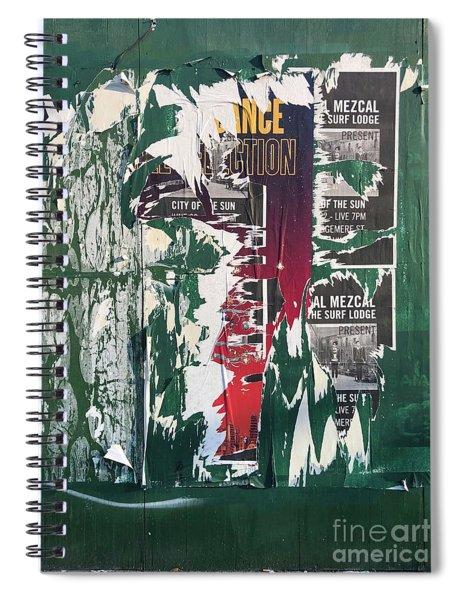Green Placard Spiral Notebook