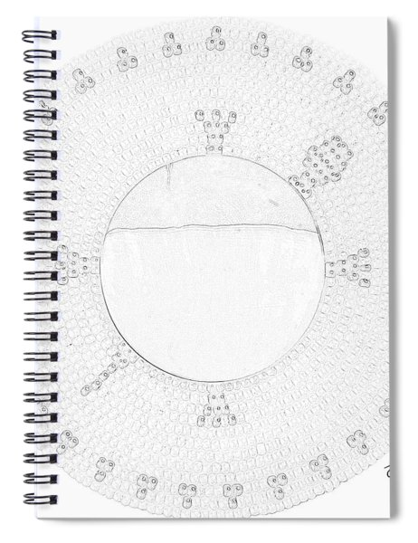 Green Schell Spiral Notebook