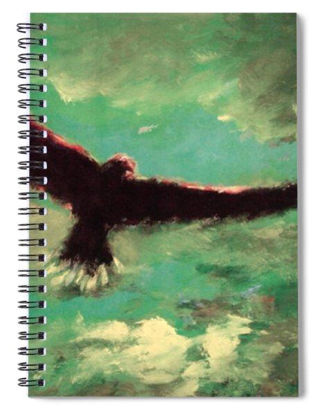 Green Sky Spiral Notebook