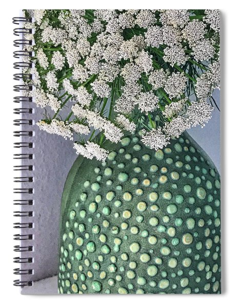 Green Slip Still Spiral Notebook
