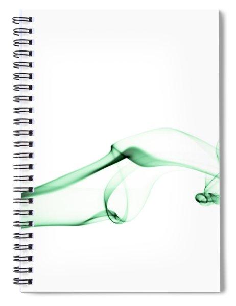 Green Smoke Spiral Notebook