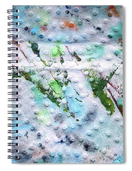Green Strike Spiral Notebook
