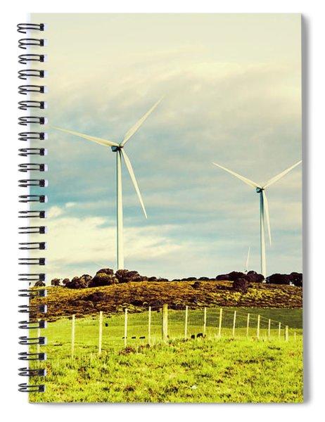 Green Tasmania Spiral Notebook
