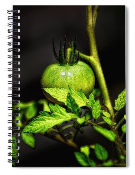 Green Tomato Spiral Notebook