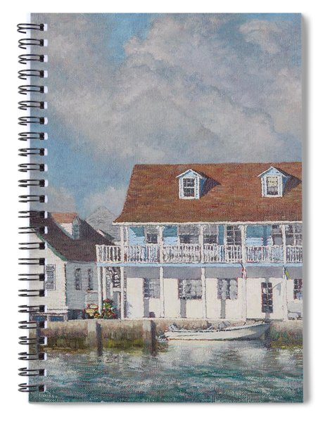 Green Turtle Cay Past And Present Spiral Notebook