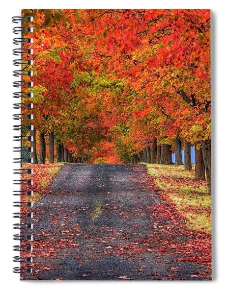 Greenbluff Autumn Spiral Notebook