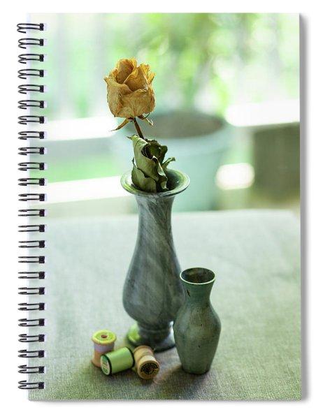 Greenish Still Life Spiral Notebook