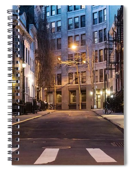 Spiral Notebook featuring the photograph Greenwich Village by Alison Frank