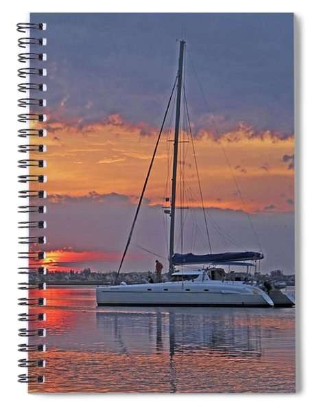 Greet The Day Spiral Notebook