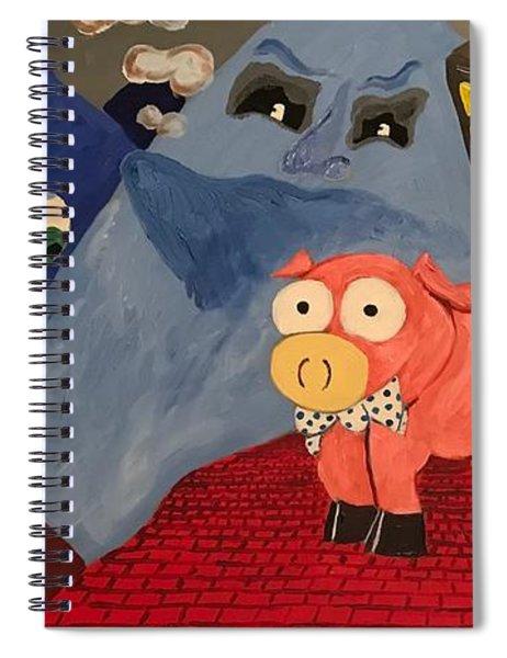 Greggery  Spiral Notebook