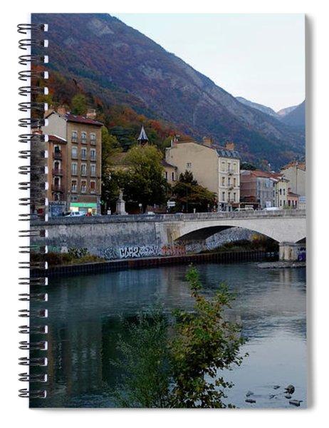 Grenoble Citadelle Bridge Spiral Notebook