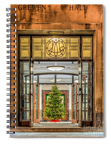 Grewen Hall Spiral Notebook