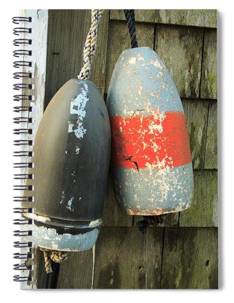 Grey Bouys Spiral Notebook