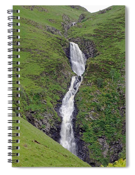 Grey Mare's Tail Spiral Notebook