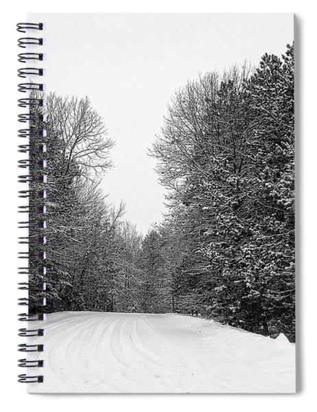 Grey Road Spiral Notebook