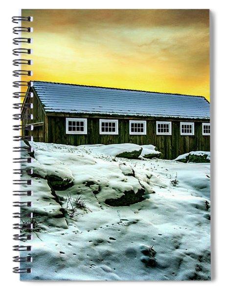 Greyledge Full Color Sunrise Spiral Notebook