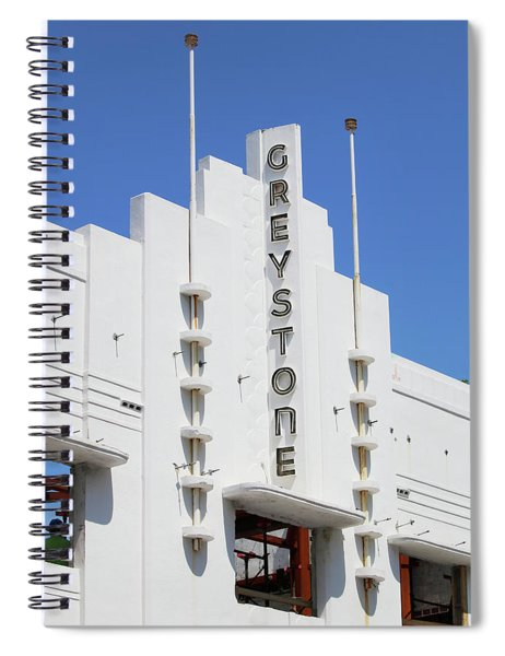 Greystone - South Beach Miami Spiral Notebook